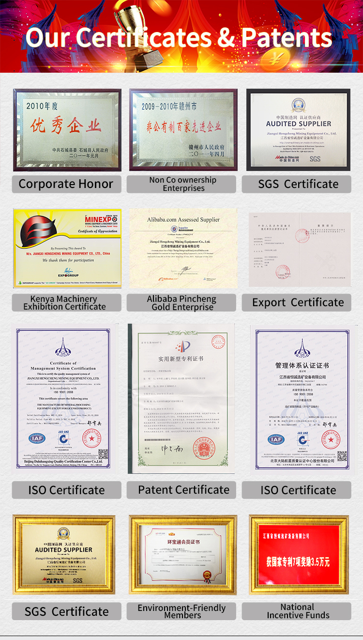 hengcheng certification